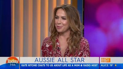 Karl Stefanovic leaves Kate Ritchie red-faced with awkward intimate question: Watch