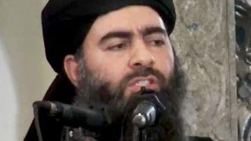 A file image of Islamic State leader Abu Bakr al-Baghdadi.