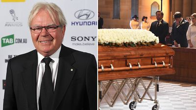 'Football evangelist' Les Murray honoured at state funeral