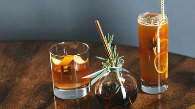 The Hillhaven Lodge old fashioned