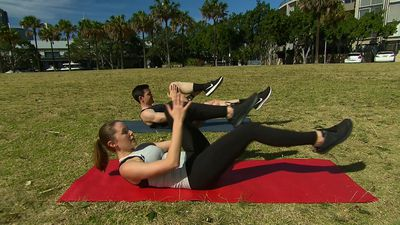 Weekend workout: Five Pilates moves anyone can do anywhere (BYO mat)