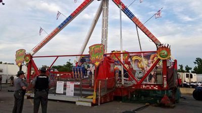 Fair ride shutdown worldwide after deadly US accident