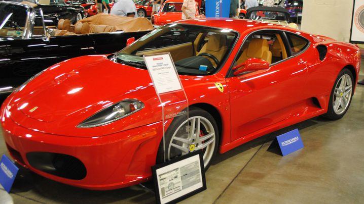 A Ferrari that belonged to Trump sold $ 270000