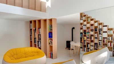 Home shows why a bookshelf is always a good idea