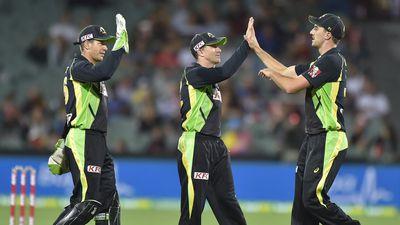Aussies beat Lanka to avoid T20 whitewash
