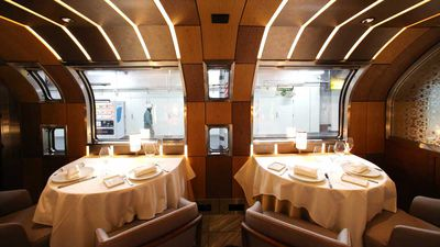 Ferrari designer's latest foray into Japanese train travel is a luxurious triumph