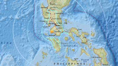 Buildings rattle as strong earthquake rocks Philippines