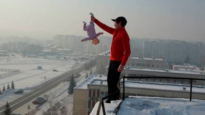 Siberian dad's extreme photo shoots with baby girl may end in jail