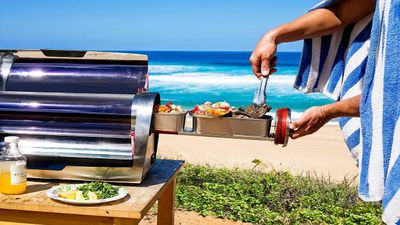 GoSun just changed the way we cook — dinner by solar power just got awesome