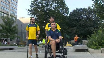 Aussie veterans go for gold at Invictus Games in honour of mates lost