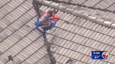 'I didn't mean to cause any trouble': Missing boy found hiding on family's roof