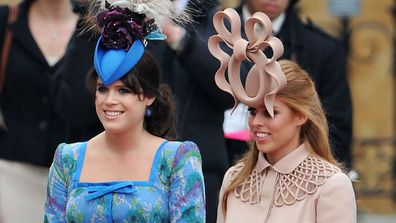 Princess Beatrice and Princess Eugenie cried over backlash for royal wedding hats pictures