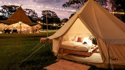 10 outdoor luxury camping experiences to hit this Australian winter