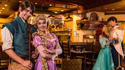 Double date with famous fairytale couples at Disneyland's new breakfast experience