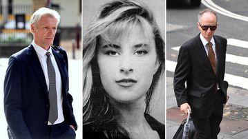 Gordon Wood, Caroline Byrne and prosecutor Mark Tedeschi. (AAP)