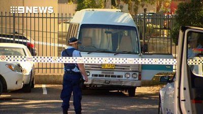 Death of man in minibus 'suspicious'