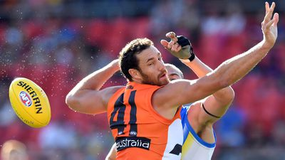 GWS Giants star Shane Mumford pumped for ruck battle against Western Bulldogs