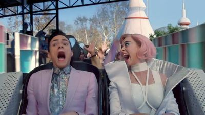 Katy Perry's 'Chained To The Rhythm' video tears into America, technology and Trump