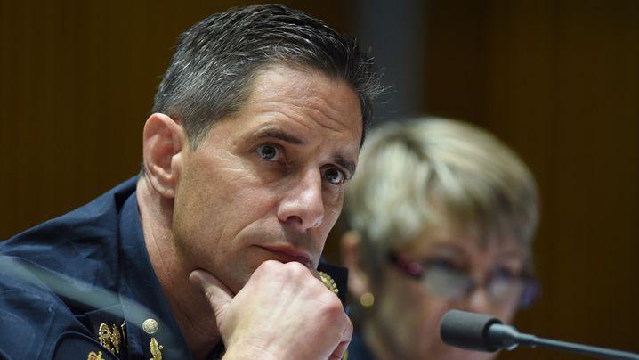 Australian Border Force Commissioner Roman Quaedvlieg. (AAP)