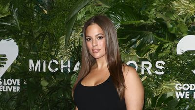 Ashley Graham joins the Victoria's Secret angels in New York