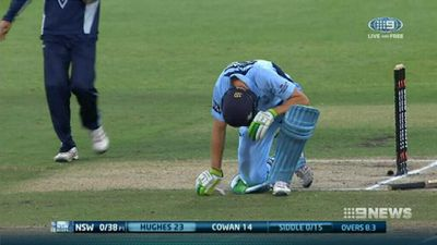 Cricket concussion sub activated, NSW win