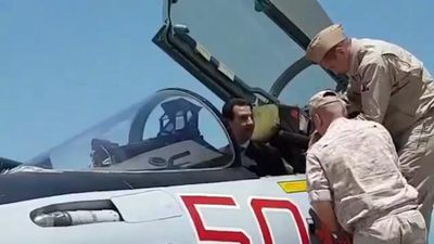 Syria's Assad visits Russian airbase