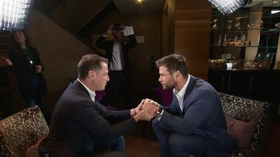 Karl Stefanovic crushes on Chris Hemsworth: 'I can't concentrate – you're too good-looking'