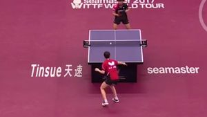 Table tennis marathon