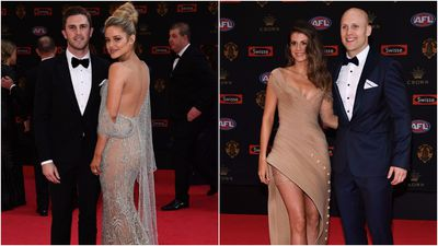 AFL stars and partners shine on the red carpet