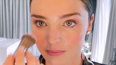 Miranda Kerr's low-key wedding makeup