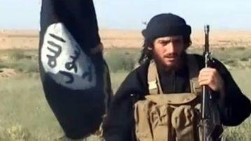 A 2012 Youtube still purportedly showing Abu Mohamed al-Adnani. (AFP)