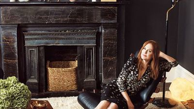 Julianne Moore's glamorous New York townhouse