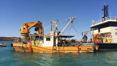 Questions raised about safety of sunken WA trawler