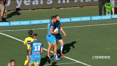 Hayne and Titans batter hapless Newcastle