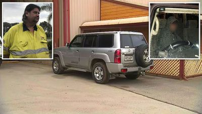 Worker confronts armed man in bungled car theft
