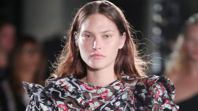 Catherine McNeil returns to the runway
