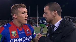 Hodkinson tells Mullen 'you smell good'
