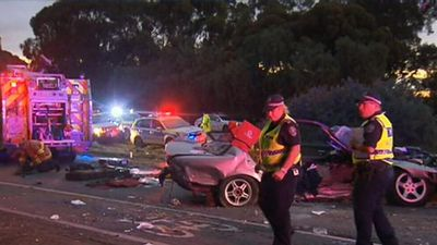 Man killed, teen fighting for life, after horror crash in Adelaide