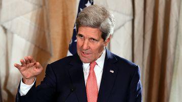 US Secretary of State John Kerry. (Getty)
