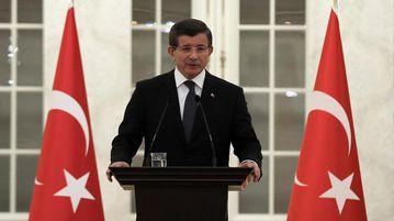 Prime Minister Ahmet Davutoglu. (AAP)