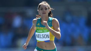 Ella Nelson. (AFP)