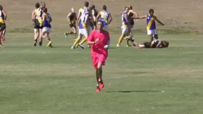 Local AFL player in Queensland banned for 20 years for kicking opponent