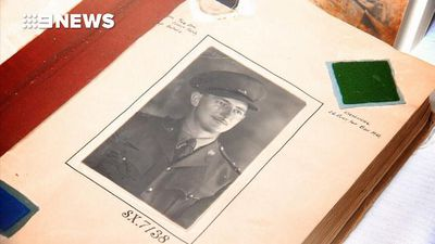WW2 diary of Adelaide digger details life in the trenches
