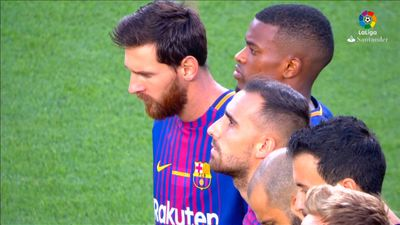 Barcelona pays tribute to terror attack victims before La Liga match against Real Betis
