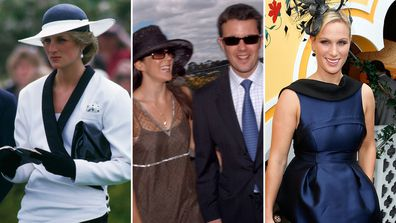 Royals at the Melbourne Cup