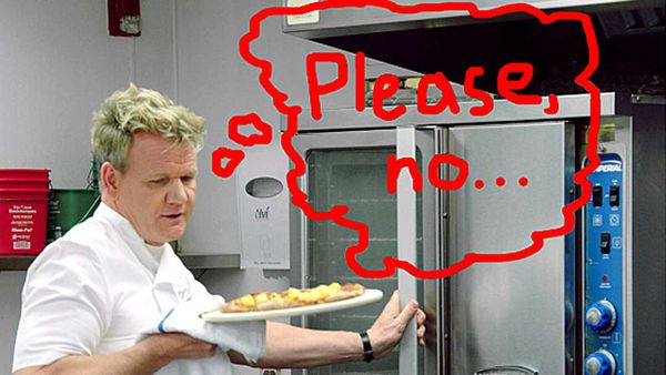 Gordon Ramsay will eat pineapple pizza for your money