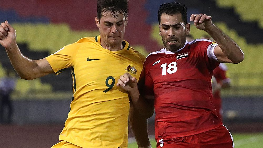World Cup 2018: Australia draw Syria after Socceroos concede late penalty