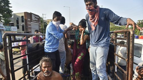 India gas leak