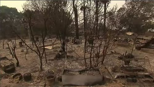 Victoria bushfires emergency properties damaged destroyed