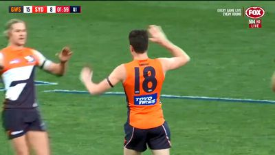 AFL: Buddy Franklin blasts Sydney Swans to victory over GWS Giants